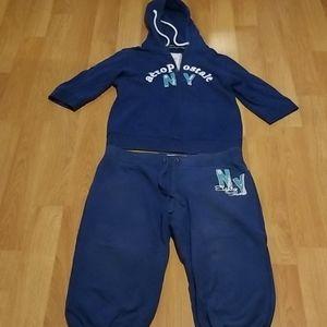 Aeropostale blue sweatsuit XL